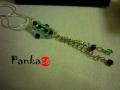 Az örök szerelem - smaragd színben - medál