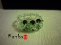 Az örök szerelem - smaragd színben - gyűrű