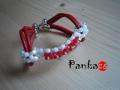 Bracelet Bow - piros