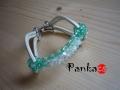 Bracelet Bow - türkiz