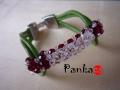 Bracelet bow - tricolor