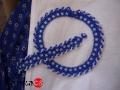 Kékfestőhöz csavartaljú - karkötő
