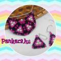 Pinky 3szögek - fülbevaló