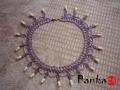 Reneszánsz nyakék - pasztell lila